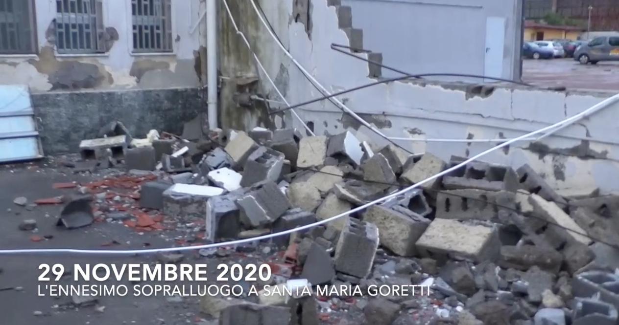 29 novembre 2020: l'ennesimo inutile sopralluogo a Santa Maria Goretti