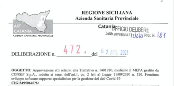 Al drive-in tamponi di Catania danno le mascherine... di carnevale: quanto sono costate?