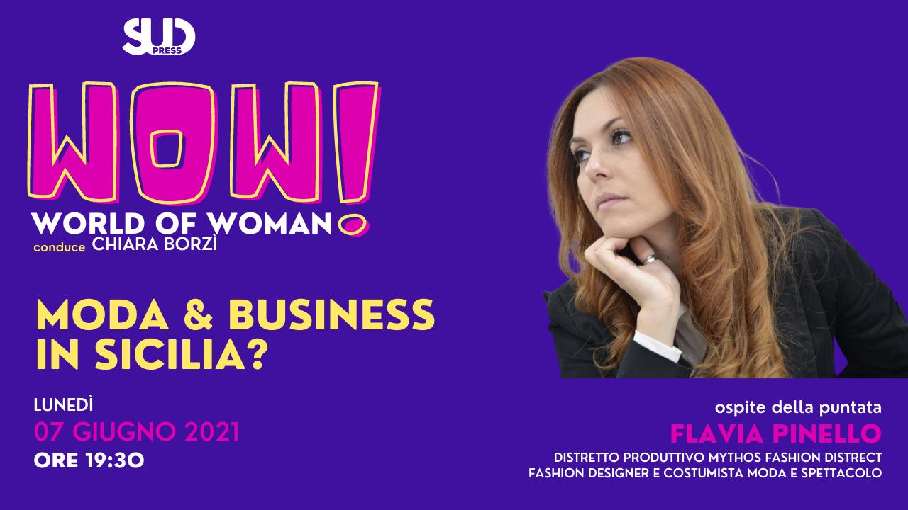 Sud WoW, il Talk a cura di Chiara Borzì ospita Flavia Pinello del Mithos Fashion District