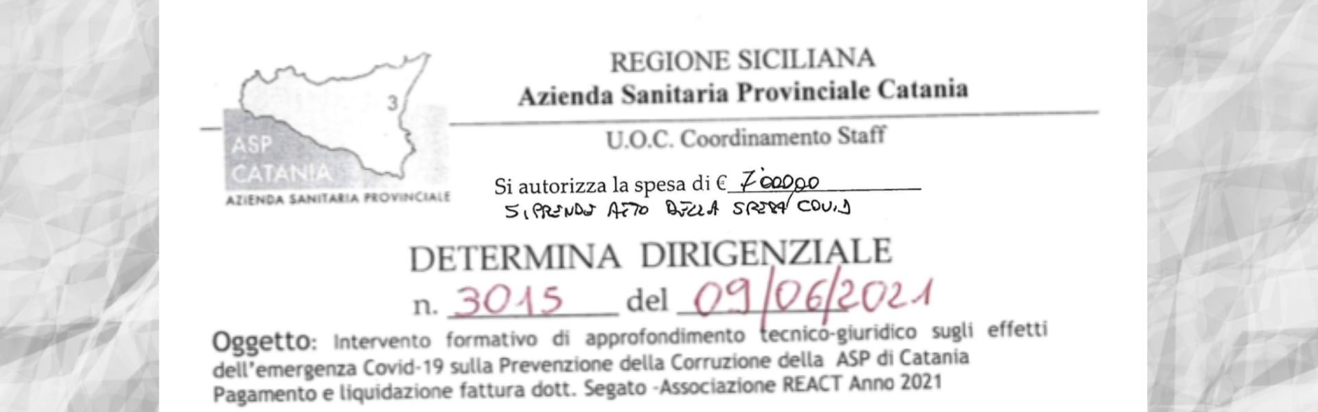 ASP Catania e i frigoriferi comprati...al doppio