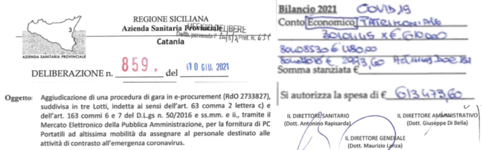 """ASP Catania e """"l'URGENTE NECESSITÁ"""": corso formativo sugli """"effetti della corruzione ai tempi del covid"""" pagato 7 mila euro con fondi...COVID"""