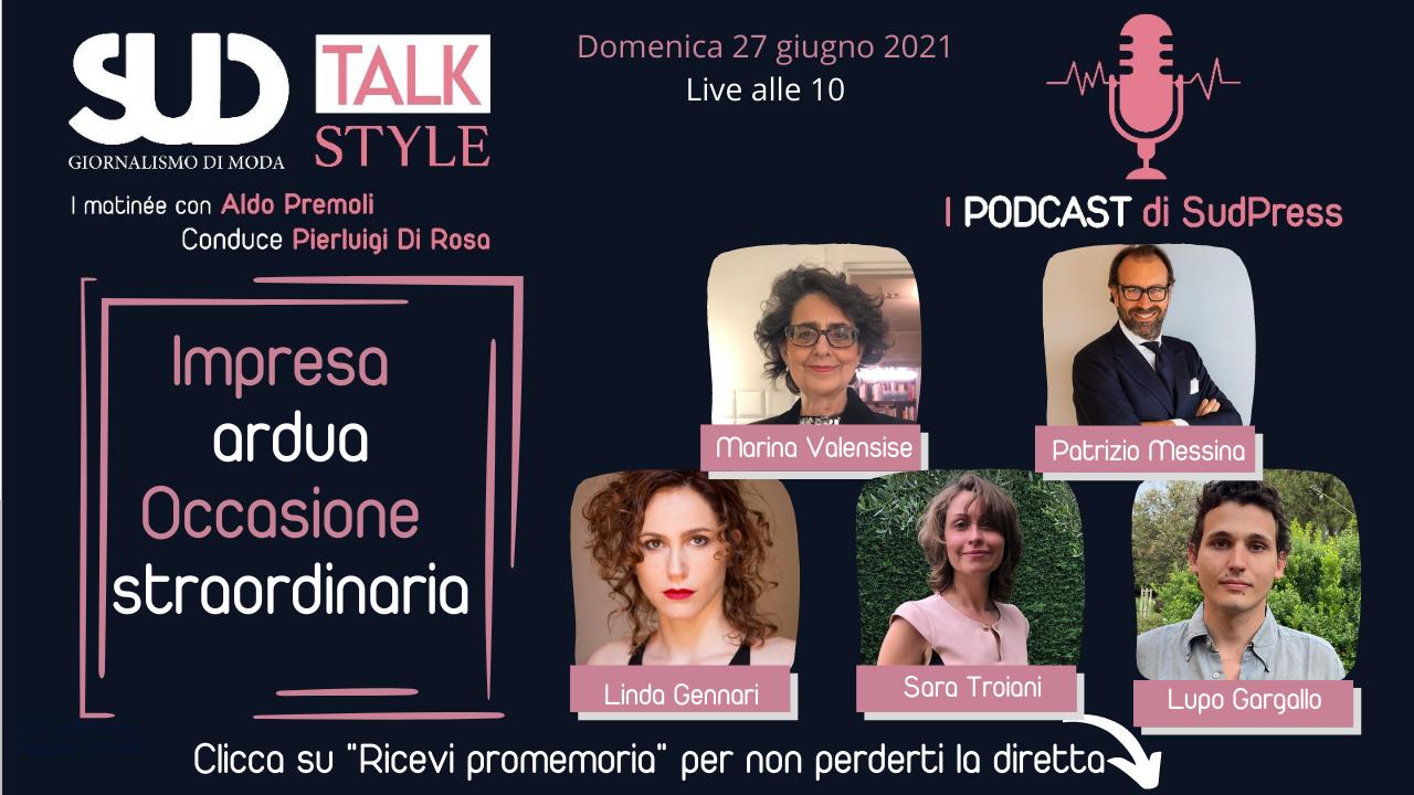 """SudStyle Talk: alle 10 live """"Finalmente il Teatro...Antico e per sempre"""""""