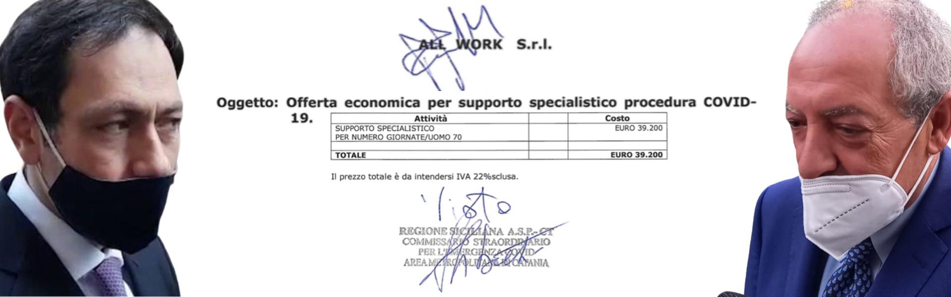 """ASP Catania, altro """"database"""" per il Covid: e siamo a 121 mila euro in 5 mesi"""