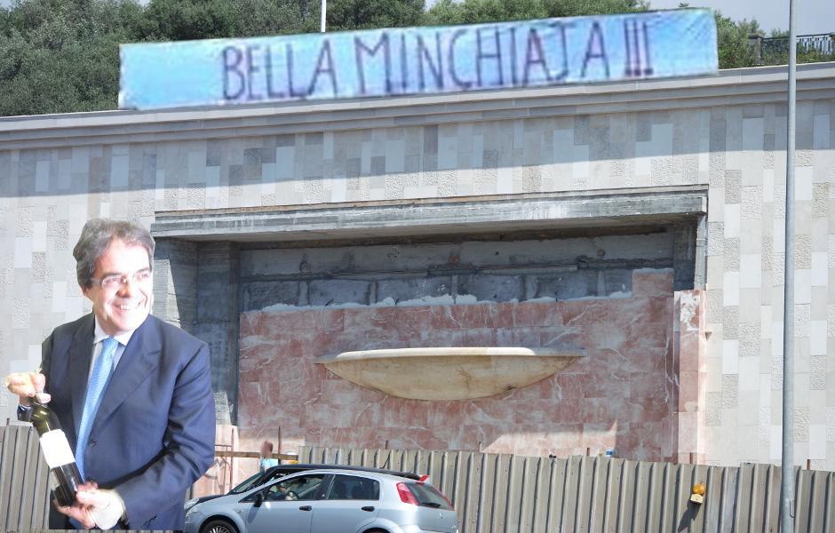 """Tondo Gioeni: """"Ma veramente Bianco c'ha messo un'acquasantiera spendendo un milione dei catanesi?"""""""