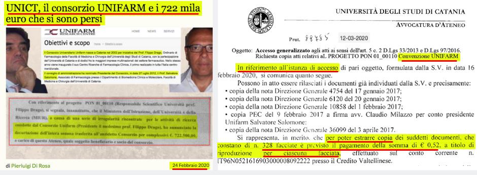 UNICT: l'Avvocato Capo Vincenzo Reina rinviato a giudizio e il TAR di Catania pesantemente bacchettato