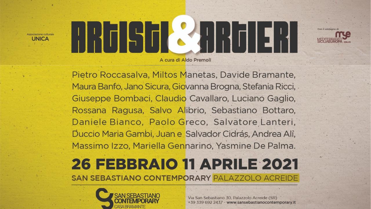 Venerdì 26 febbraio a Palazzolo